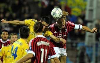 1-1 contro il Bate non è da Milan