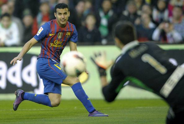 FC Barcelona's forward Pedro Rodriguez (