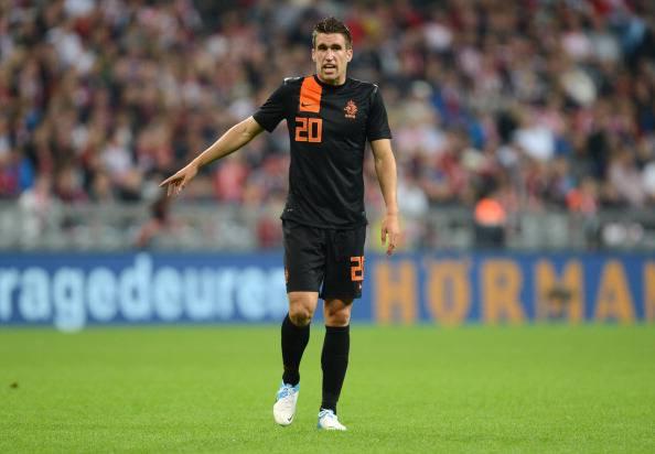 Netherland's midfielder Kevin Strootman