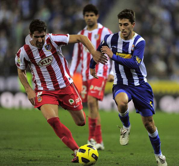 Atletico Madrid's midfielder Raul Garcia