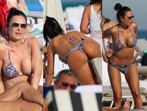 Nicole Minetti hot Miami copertina