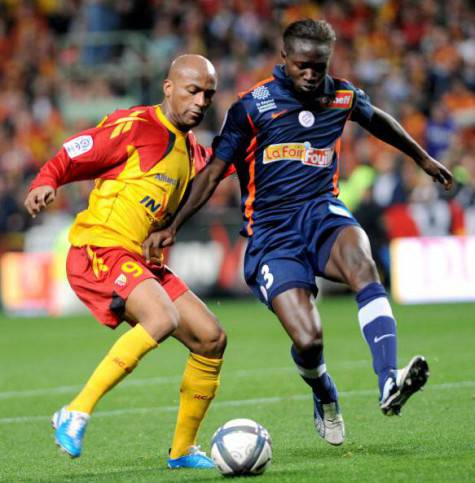 Lens' French forward Toifilou Maoulida (