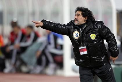 Al-Wasl's Argentinian coach Diego Marado