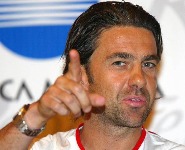 Football star Costacurta Alessandro of I