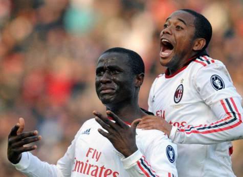 Strasser con la maglia del Milan