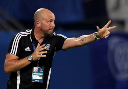UAE's al-Nasr club coach Walter Zenga of