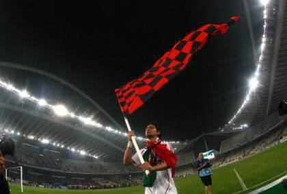 AC Milan's forward Filippo Inzaghi jubil