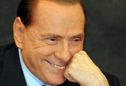 Italy's former Prime Minister Silvio Ber