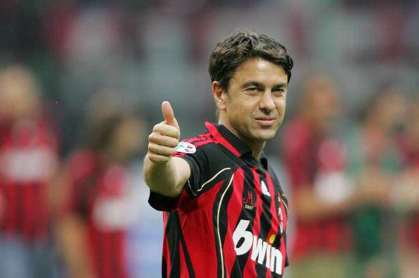 AC Milan's captain defender Alessandro C
