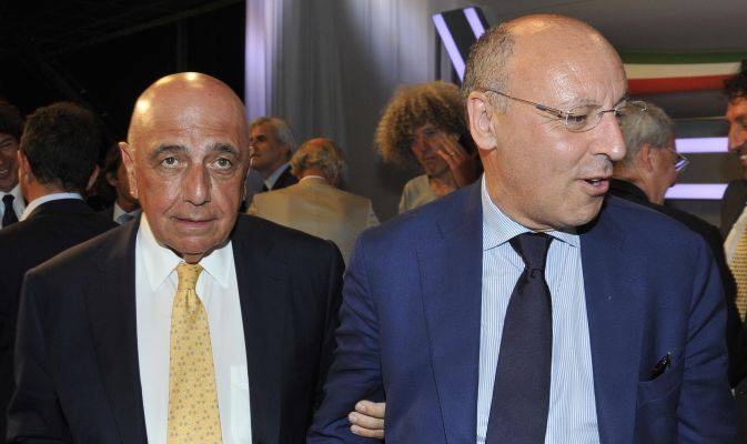 Galliani & Marotta (foto dal web)