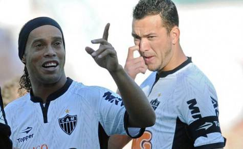 Brazilian Atletico MG Ronaldinho Gaucho