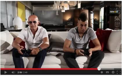 sacchi 420x261 Video   El Shaarawy e Sacchi sfidano Insigne e Destro a FIFA 14