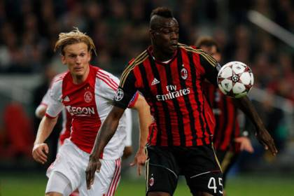 Ajax Amsterdam v AC Milan - UEFA Champions League