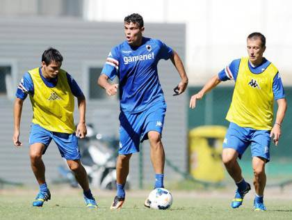 Sampdoria/Allenamento