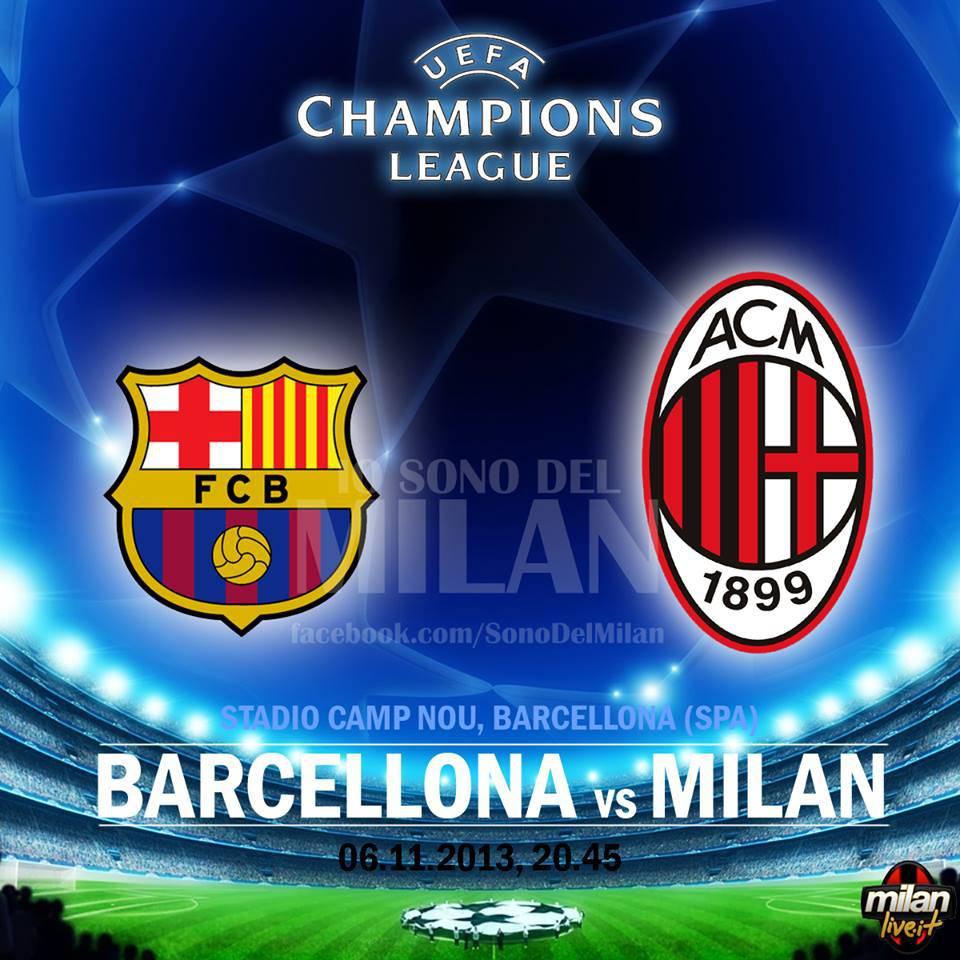 Barcellona Milan