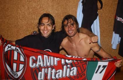 NESTA E MALDINI MILAN-ROMA CAMPIONATO 2003/04