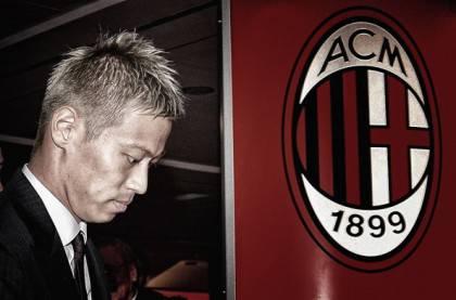 AC Milan Unveils New Signinig Keisuke Honda