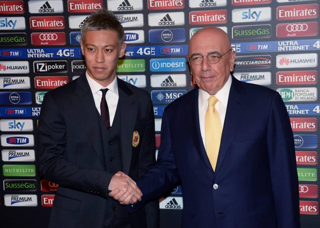 Presentazione ufficiale a S.Siro del nuovo giocatore del Milan