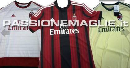 Maglie nuove Milan