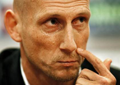Football team Ajax's defender Jaap Stam