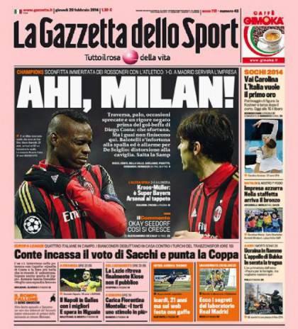 Gazzetta Milan