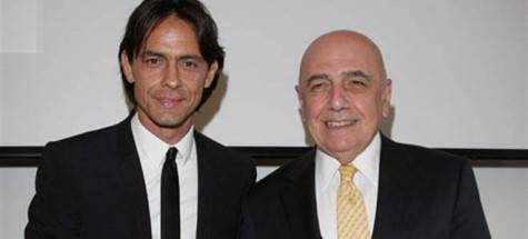 Inzaghi e Galliani