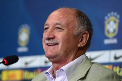 Luiz Felipe Scolari Announces Brazilian Squad for Friendly Match Against South Africa - Press Conference