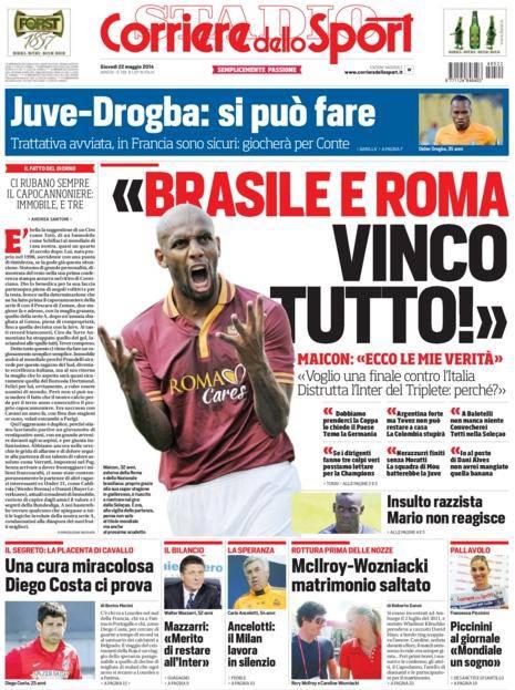 Corriere dello Sport 22-05-2014