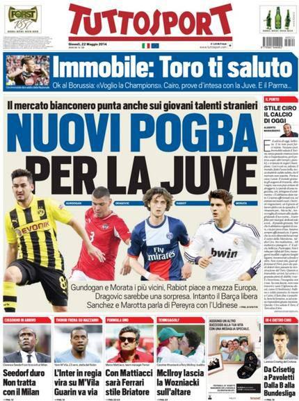 Tuttosport 22-05-2014