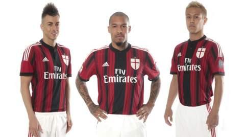 Милан фото футболистов в форме