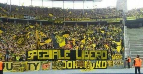 Striscioni Borussia