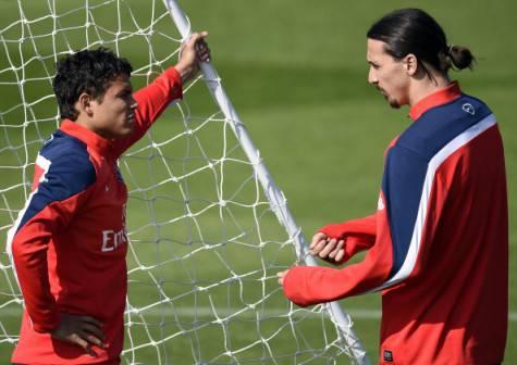 Thiago Silva & Ibrahimovic