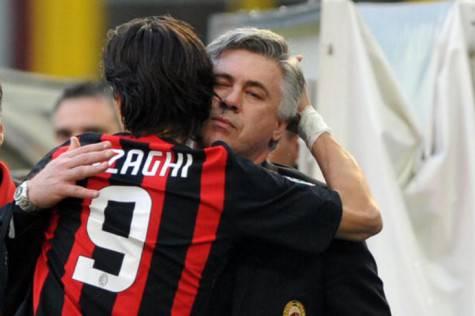 Ancelotti e Inzaghi