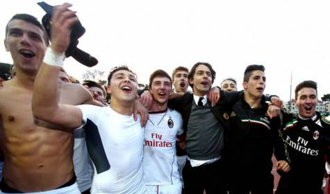 Inzaghi e la Primavera del Milan