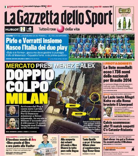 La Gazzetta dello Sport 04-06-2014