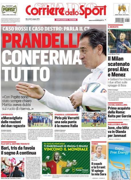 Corriere dello Sport 04-04-2014