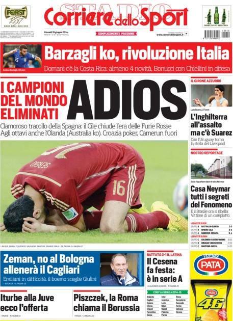 Corriere dello Sport 19-06-2014
