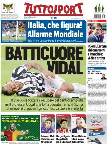 Tuttosport 05-06-2014