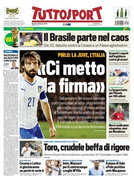 Tuttosport - 12/06/2014