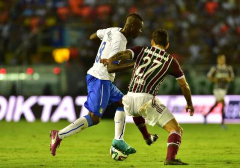 Balotelli contro il Fluminense