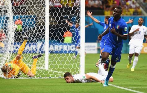 Balo in gol contro l'Inghilterra