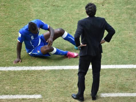 Cesare Prandelli e Mario Balotelli (Getty Images)