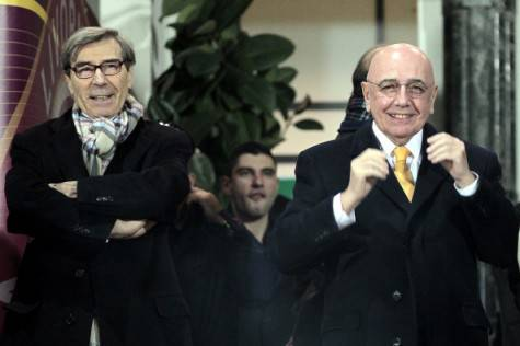 Ariedo Braida & Adriano Galliani (Getty Images)