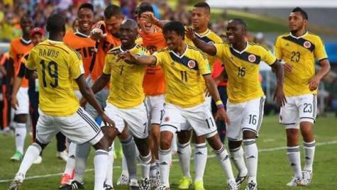 La Colombia esulta