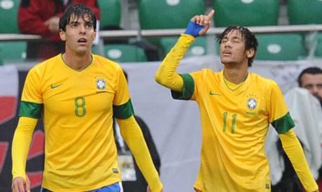 Kakà e Neymar