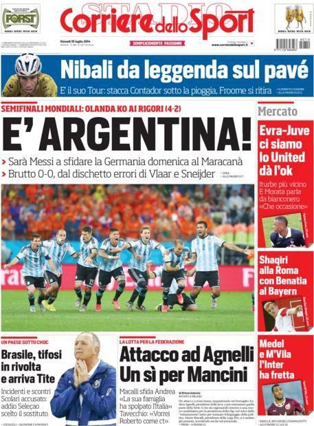 Corriere dello Sport 10-07-2014