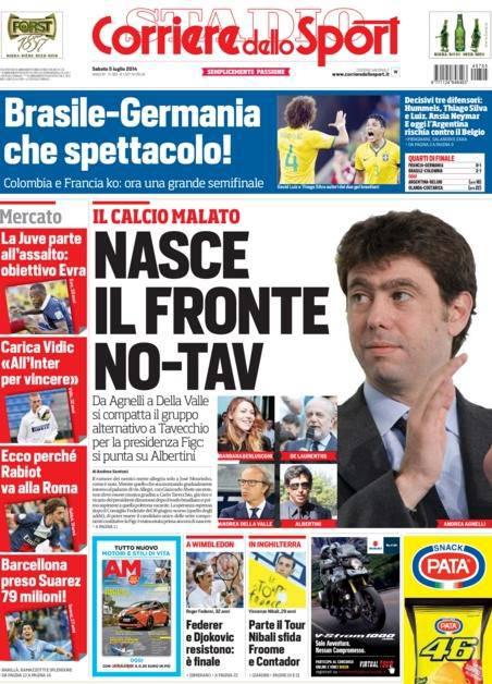 Corriere dello Sport - 05/07/2014