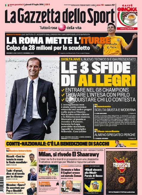 Gazzetta dello Sport 17-07-2014