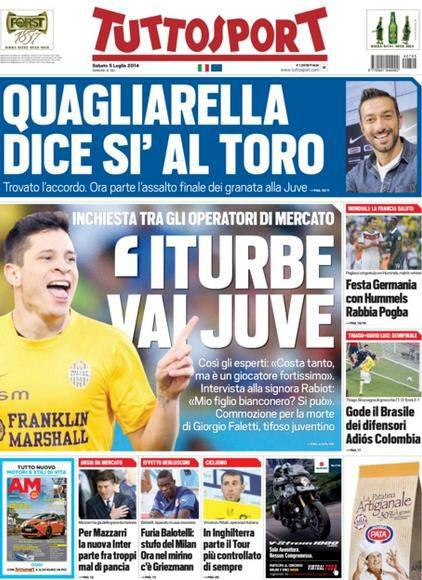 Tuttosport - 05/07/2014
