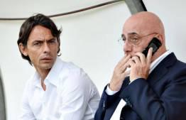 Filippo Inzaghi & Adriano Galliani